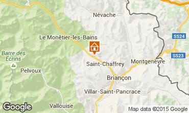 Mappa Serre Chevalier Chalet 2972