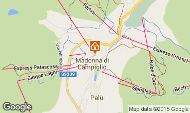 Mappa Madonna di Campiglio Appartamento 50220