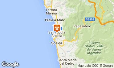 Mappa San Nicola Arcella Appartamento 85081