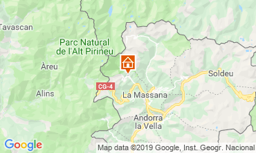 Mappa Pal-Arinsal Chalet 4740