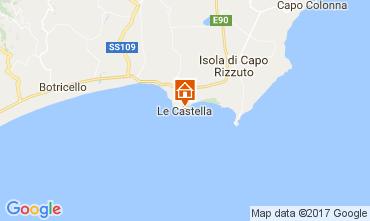 Mappa Le Castella Appartamento 78532