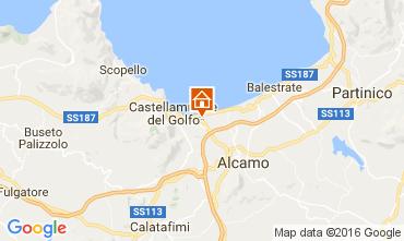 Mappa Castellammare del Golfo Casa 105043