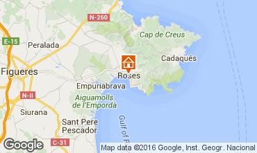 Mappa Rosas Appartamento 102234