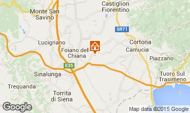 Mappa Cortona Agriturismo 14779