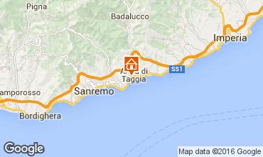 Mappa Taggia Appartamento 71263