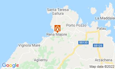 Mappa Santa Teresa di Gallura Villa  109657