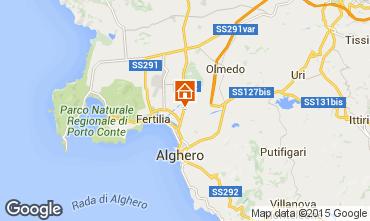 Mappa Alghero Casa 94774