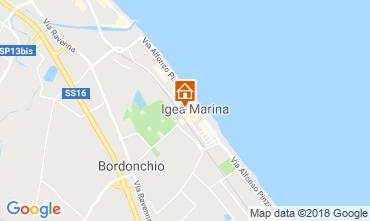 Mappa Bellaria Igea Marina Appartamento 82153