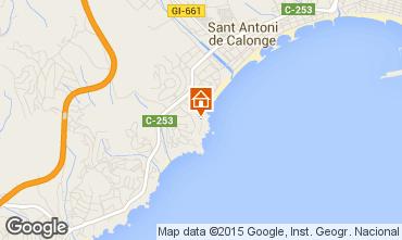 Mappa Sant Antoni de Calonge Appartamento 94441