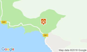 Mappa Cargese Casa 116143