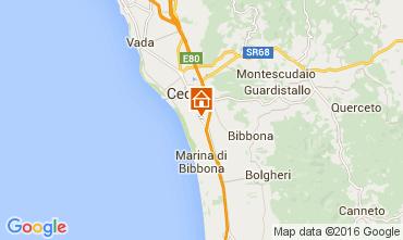 Mappa Cecina Appartamento 67740