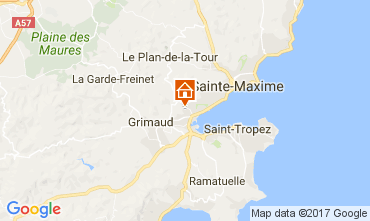 Mappa Port Grimaud Casa 70377
