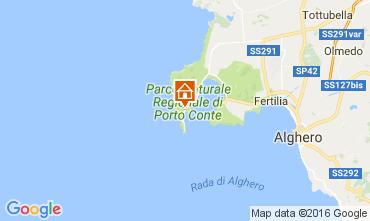 Mappa Alghero Casa 61277