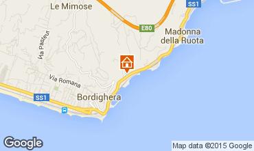 Mappa Bordighera Appartamento 101481