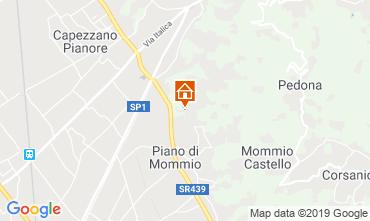 Mappa Camaiore Villa  107102
