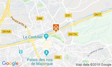 Mappa Perpignan Appartamento 119394