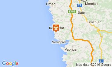 Mappa Cittanova d'Istria (Novigrad) Appartamento 62763