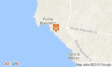 Mappa Punta Secca Villa  42957