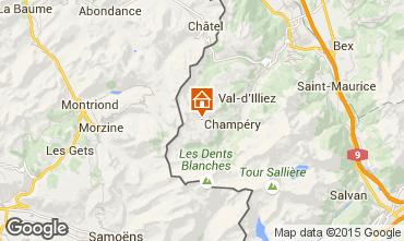 Mappa Les Crosets Monolocale 4698
