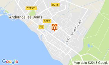 Mappa Andernos les Bains Casa 115334