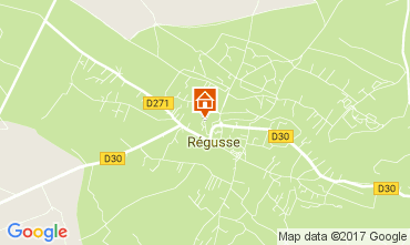 Mappa Les Salles sur Verdon Casa 29581