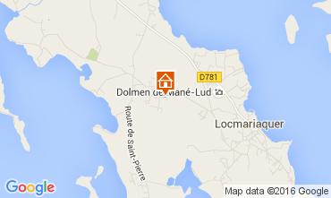 Mappa Locmariaquer Appartamento 10666