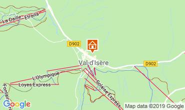 Mappa Val d'Isère Appartamento 117667