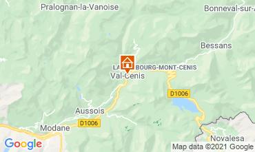Mappa Termignon la Vanoise Appartamento 49523