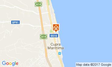 Mappa Cupra Marittima Appartamento 108823