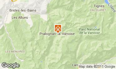Mappa Pralognan la Vanoise Agriturismo 2290