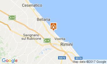 Mappa Rimini Appartamento 102721