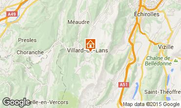 Mappa Villard de Lans - Corrençon en Vercors Monolocale 28781