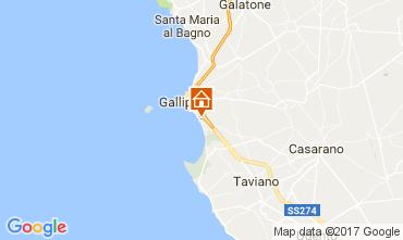 Mappa Gallipoli Appartamento 92227