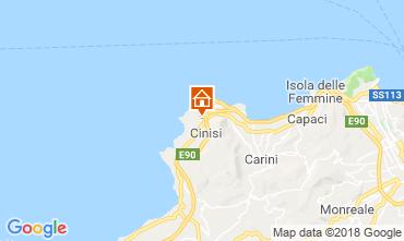 Mappa Cinisi Villa  117095