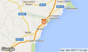 Mappa Avola Villa  79539