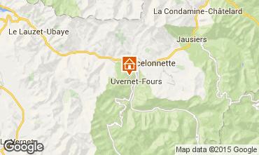 Mappa Pra Loup Chalet 40579