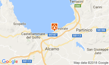 Mappa Balestrate Villa  113476