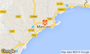 Mappa Menton (Mentone) Appartamento 35730