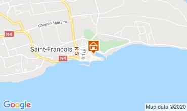 Mappa Saint Francois Monolocale 67507