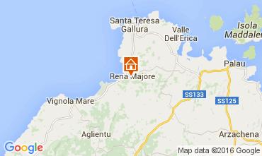 Mappa Santa Teresa di Gallura Appartamento 99066