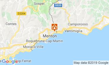 Mappa Menton (Mentone) Appartamento 116149