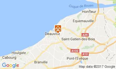 Mappa Touques Appartamento 111786