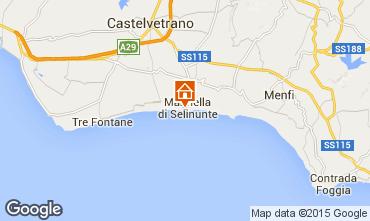 Mappa Castelvetrano Selinunte Appartamento 64171
