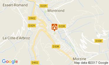 Mappa Morzine Casa 69537