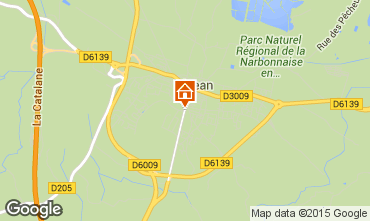 Mappa Sigean Casa mobile 90647