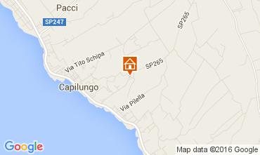 Mappa Gallipoli Casa rupestre 69168