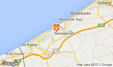 Mappa Nieuwpoort Appartamento 9584