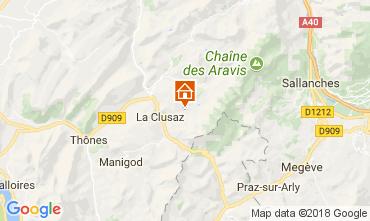 Mappa La Clusaz Appartamento 73326