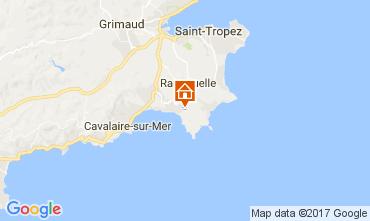 Mappa La Croix Valmer Villa  111829