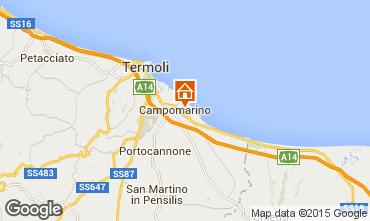 Mappa Campomarino Appartamento 57140
